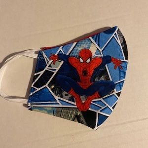 Other - Marvel's Spiderman Double-Sided Face Mask